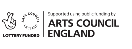 Arts Council England and National Lottery Project Grants logo